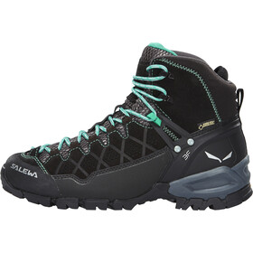 SALEWA Alp Trainer Mid GTX Shoes Dame black out/agata